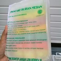 Pancake Durian Medan isi 21 dan isi 15