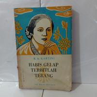 R A Kartini- Habis gelap terbitlah terang-buku ORIGINAL