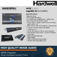 Mixer Audio Hardwell 24 Channel Legendmix 24 With Hardcase