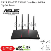 ASUS RT-AX55 AX1800 Dual-Band WiFi 6 Router