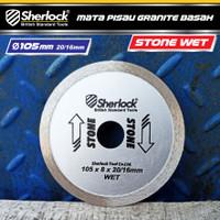 Diamond Wheel (Wet 4) Sherlock Mata Pisau Potong Granite Basah Stone