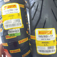 paket Ban pirelli angel City 120/70 ring 17 & 150/60 ring 17 MOGE