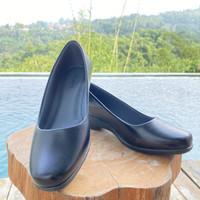 Sepatu pantofel wanita sekolah kerja kulit sintesis premium shoes