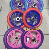 ban sepeda anak / roda mati sepeda ukuran 12