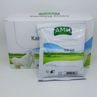 AMH kambing susu etawa rasa original isi 10 sachet per box bubuk