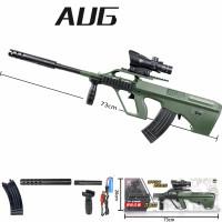 Mainan Tembakan Water Gel Gun WGG Blaster Electric Otomatis Gun AUG