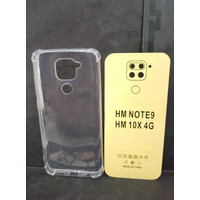 Anticrack/Softcase Xiaomi Redmi Note 9/10 X Casing Transparan Termurah