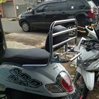 Back Rack/Sandaran Belakang Plus Bantalan Buat Jonda Scoopy N