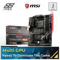 MSI B450 TOMAHAWK MAX II Motherboard [ATX | AM4]