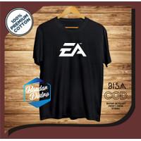 Kaos Pria Distro Keren EA Bandung Original Murah/Baju Oblong Katun 30s