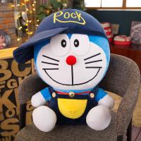 Boneka Doraemon Topi Rock Baju Kodok Jumbo Besar Lucu Murah SNI 30 Cm