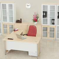 Meja kantor staff manager direktur ceo bos laci uno 160 180 cm modern
