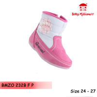 Baby Millioner BMZO 232B F P / Sepatu Anak Kecil / Boot Bayi