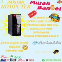 PC RAKITAN INTEL CORE I3 2120 4GB SSD 240GB
