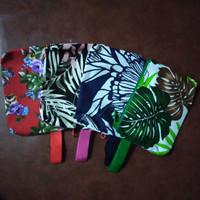 souvenir pouch kanvas motif campur
