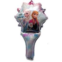 Balon Foil Stick Pentung Karakter Frozen