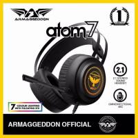 Armageddon 2.1 Gaming Headset Atom7 ( 7 Color Lighting)