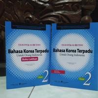 PAKET BAHASA KOREA TERPADU PLUS LATIHAN JILID 2 + CD Audio