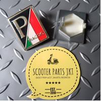 Emblem Piaggio P/ Italian For Vespa GTS Sprint Prima S LX LXV