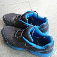 Sepatu Trail Running League Blue Rubber Construction Original Second