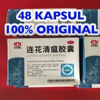 Lianhua isi 48 Import 100% Asli Original Obat Tenggorokan Batuk Flu