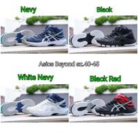 Sepatu Voli Asics Gel Beyond Mid - Sepatu Volly Badminton Bulutangkis