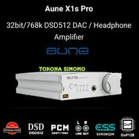 AUNE X1s Pro Hi-Fi 32Bit/768k DAC Headphone Amplifier - SILVER