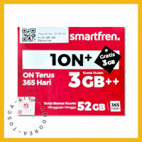 Kartu Smartfren 4G Perdana Modem MiFi Huawei & Andromax 1ON+ ION+ 10N+