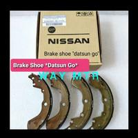 brake shoe kampas rem belakang Datsun go D4060-4LCOA