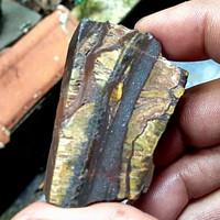 batu bahan badar besi serat emas