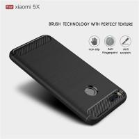 Xiaomi Mi A1 / Redmi 5x Carbon Fiber Slim Fit Soft Case