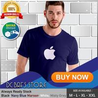Baju Kaos Tshirt Cowok Pria Dewasa Distro Terbaru Premium Apple