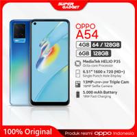 OPPO A54 4/128 GB Smartphone Mediatek RAM 4 ROM 128 Type C Android 10