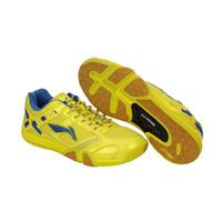 Sepatu Bulutangkis/Badminton Anak-Anak Junior LINING Saga Yellow Blue