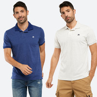 polo shirt aeropostale solid soft original