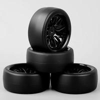 D13 RC drift tires, ban RC velg 1:10