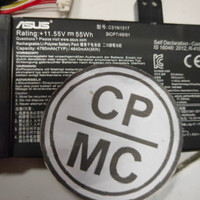 Baterai ASUS C31N1517 TP301 TP301UA VivoBook Flip TP301UJ TP301U