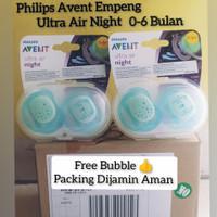 Philips Avent Empeng Dot Bayi New Born 0-6 Bulan isi 2 pcs