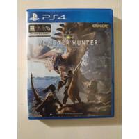 BD Kaset PS4 Monster Hunter World