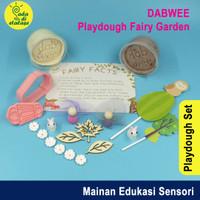 Mainan Anak Edukasi Homemade Playdough Set Dabwee Fairy Garden Kit