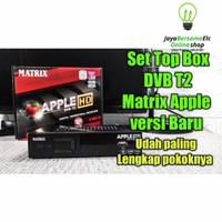 Set Top Box DVBT2 Matrix Apple HD Digital Antena UHF DVB T2 TV Murah