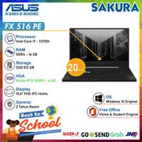 ASUS TUF Dash FX516PE I7R5B6T-O i7 11370H 16G 512GB RTX3050Ti W10 OHS