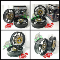 Velg Axio Double disc R15 Old v2 Vixion New tapak Lebar 3inc 4,5inc