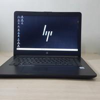 HP 14 bs0xx Core i3 6006u Gen 6 Ram 4GB HDD 500GB No Minus