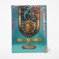 A4 Mushaf Ash Shahib Rasm Utsmani Terjemahan Waqaf dan Ibtida - HIJAU