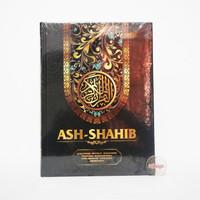 A4 Mushaf Ash Shahib Rasm Utsmani Terjemahan Waqaf dan Ibtida - HITAM