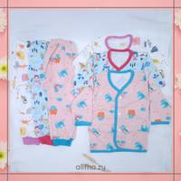 3 Setelan Baju Piyama Bayi Perempuan 3 6 12 Bulan 1 Tahun Lucu SNI