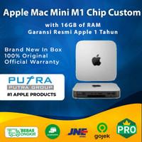 Apple Mac Mini 2020 M1 Chip CTO Custom RAM 16GB 256GB 512GB 1TB 2TB