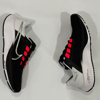 Sepatu Sneakers Nike Air Zoom Pegasus 38 Black White Red