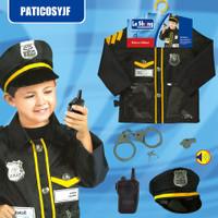 Mainan Edukasi Anak Kostum Polisi Set. Mainan Profesi Polis Police